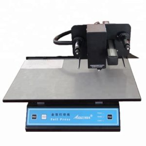 Digital gold foiling machine